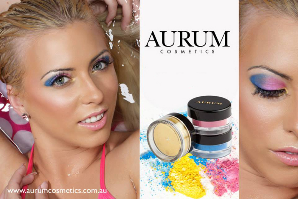 Cosmetic Product Photography for Aurum Cosmetics